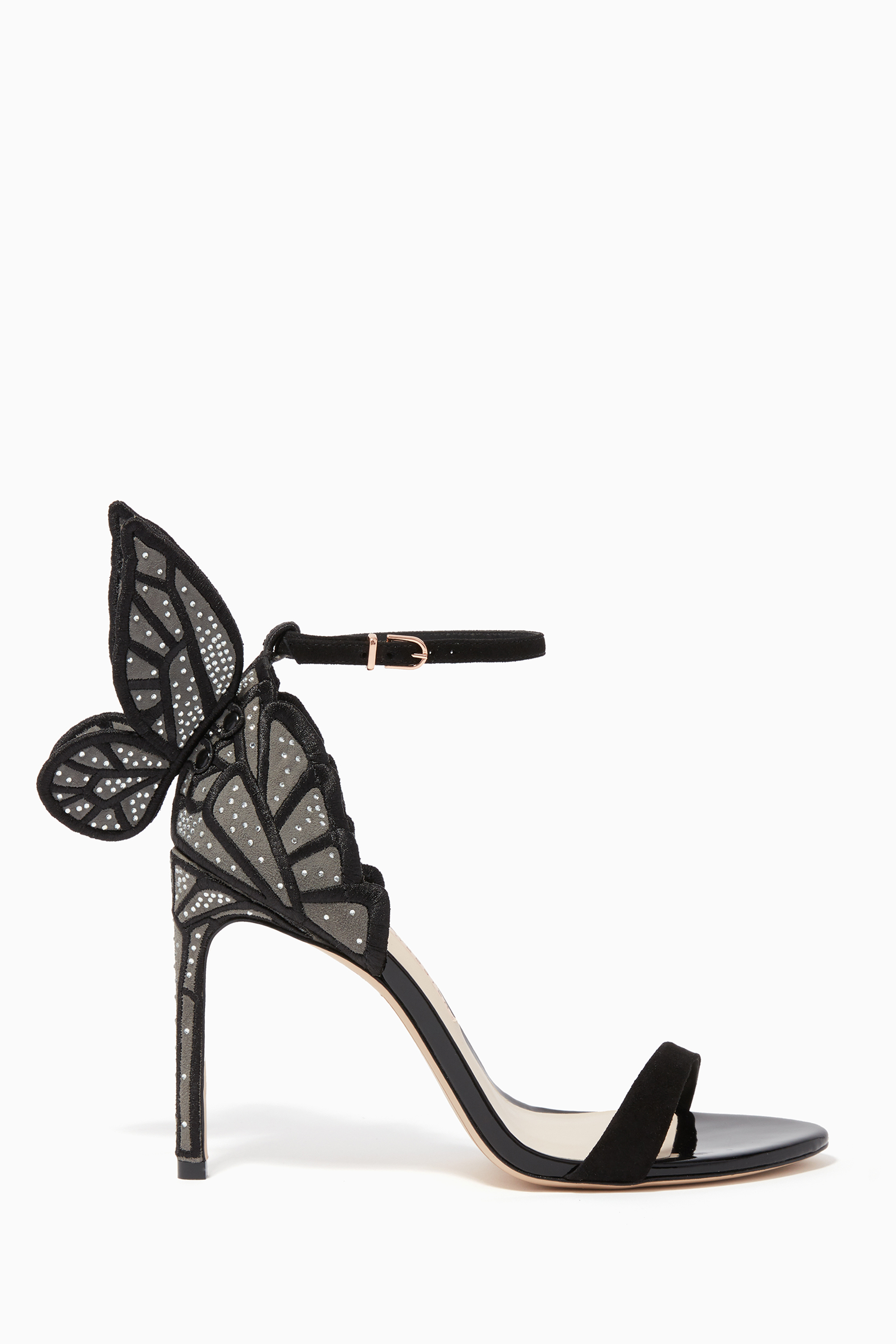 Chiara Butterfly Suede Sandals