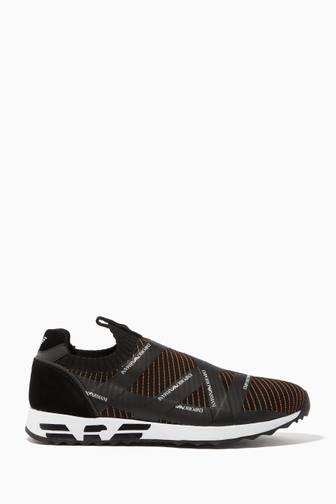 f43e2b50 Shop Luxury Emporio Armani Shoes for Men Online | Ounass Bahrain