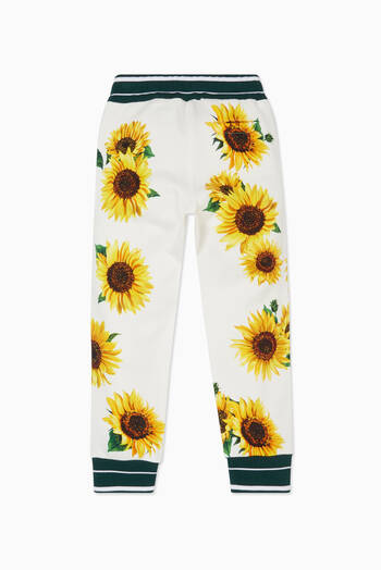 hover state of Sunflower Print Tracksuit Pants
