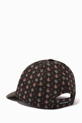 hover state of DNA Printed Baseball Cap