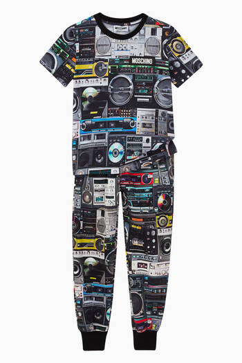 hover state of Boom Box Track Pants