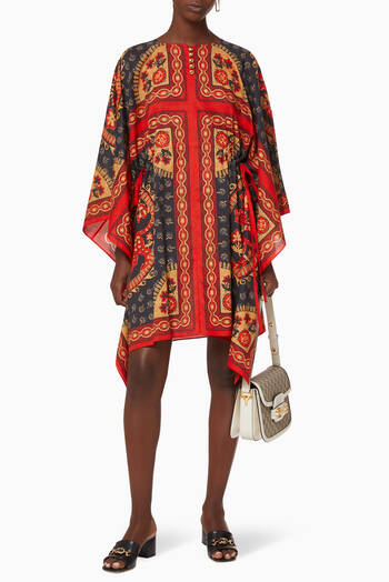 hover state of Cotton Kaftan Dress