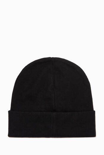 hover state of Logo Beanie in Cotton-Cashmere