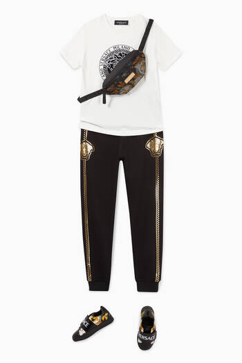 hover state of Medusa Accent Cotton Sweatpants