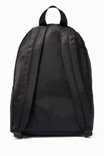 hover state of CK Text Tape Backpack in Nylon