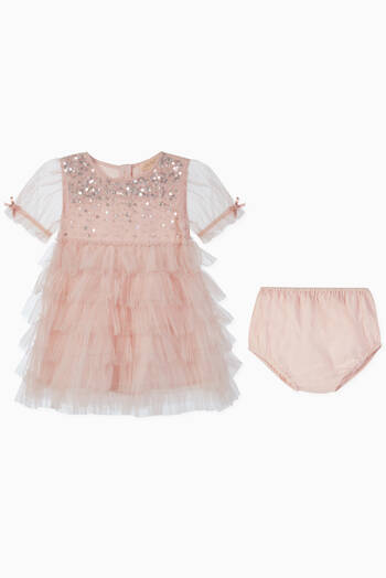 hover state of Bijou Cotton Tulle Dress