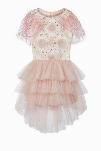 hover state of Marlene Cotton Tulle Tutu Dress
