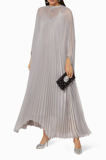 hover state of Sara Organza Pleated Cape