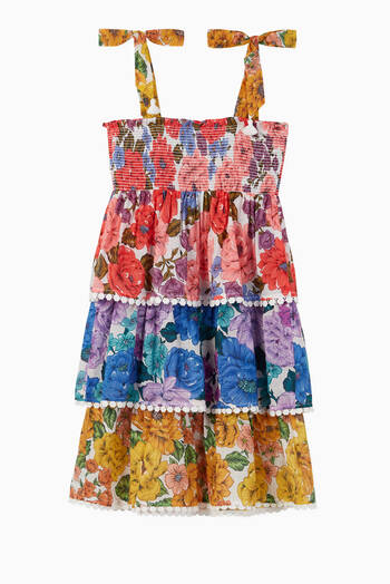 hover state of Poppy Tiered Dress