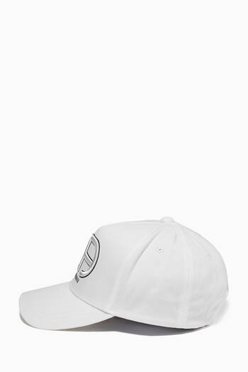 hover state of Reacreate Capsule Collection Baseball Cap in Cotton