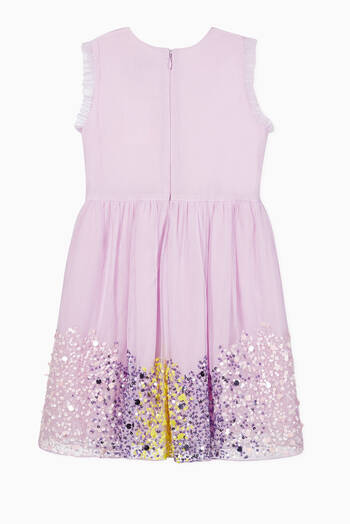 hover state of Sequin Tulle Dress