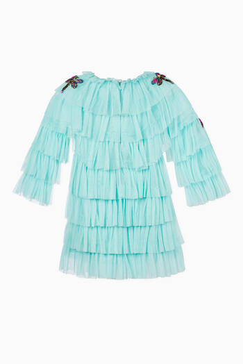 hover state of Dragonfly Ruffle Dress