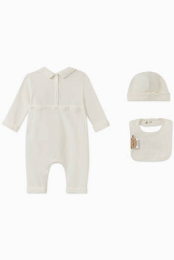 "hover state of ""Original Gucci"" Romper,  Set of 3"