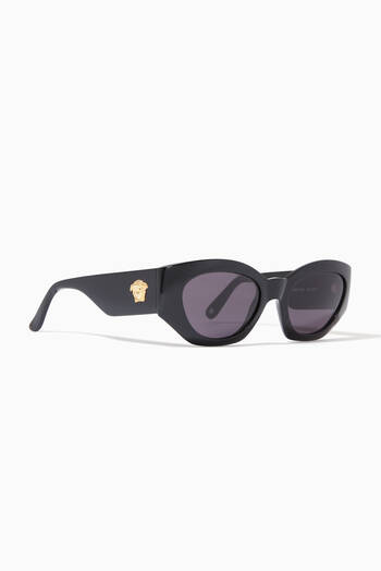 hover state of Oval Logo Sunglasses