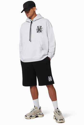 hover state of Monogram Jersey Hoodie