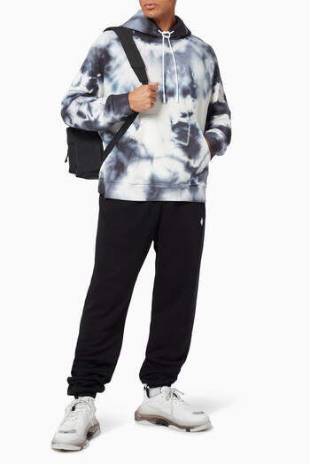 hover state of County of Milan Tie Dye Hoodie