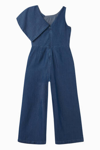 hover state of Twist Wrap Wide Leg Jumpsuit