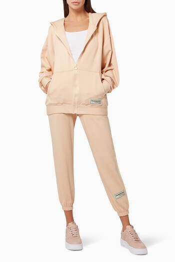 hover state of Organic Bamboo Super Oversized Zip Hoodie