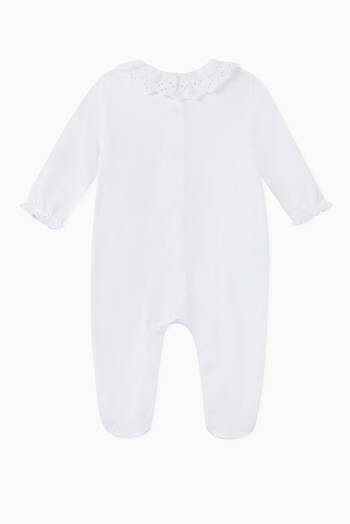 hover state of Contrast Cotton Sleepsuit