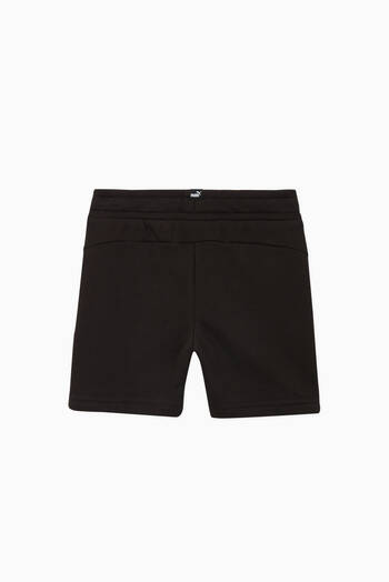 hover state of Amplified Logo Cotton Shorts