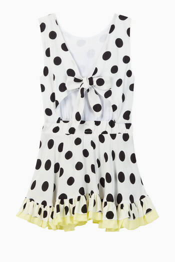 hover state of Havana Polka Dot Viscose Dress