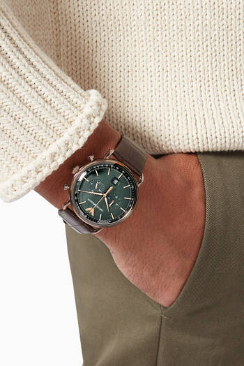hover state of Aviator Chronograph Watch