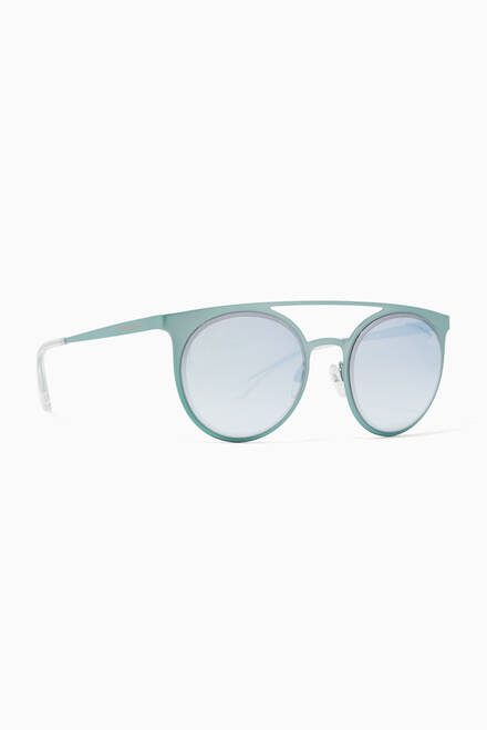 hover state of Round Mirror Sunglasses