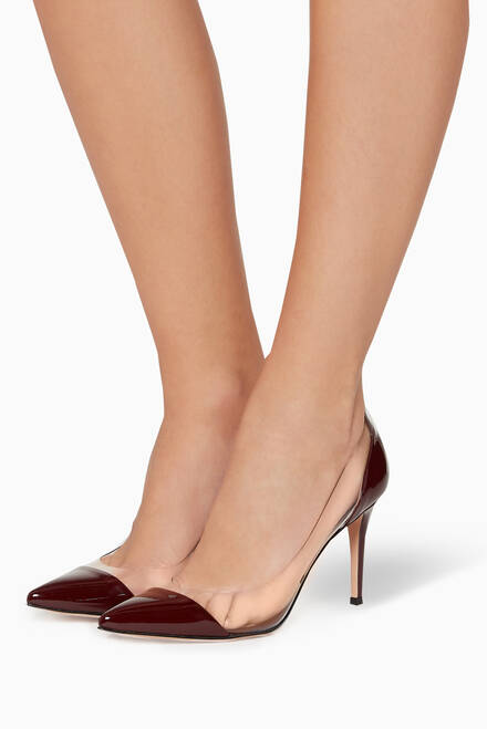 hover state of Patent Leather & Plexi Pumps