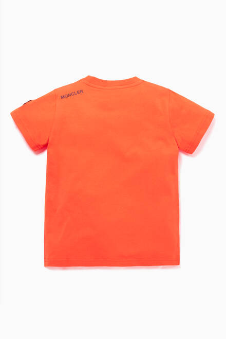hover state of Orange T-Shirt with Graphic