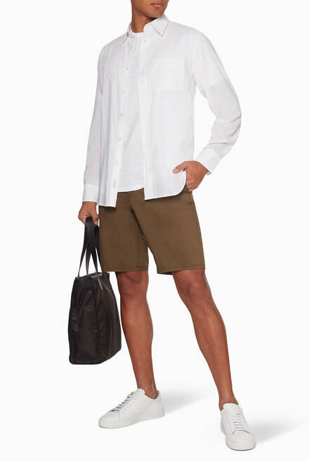 hover state of Fit 3 Cotton Beach Shirt