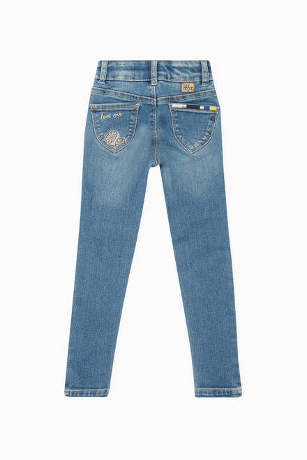 hover state of Embroidered Jeans