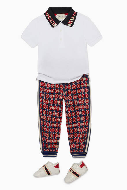 hover state of GG Print Jersey Jogger Pants