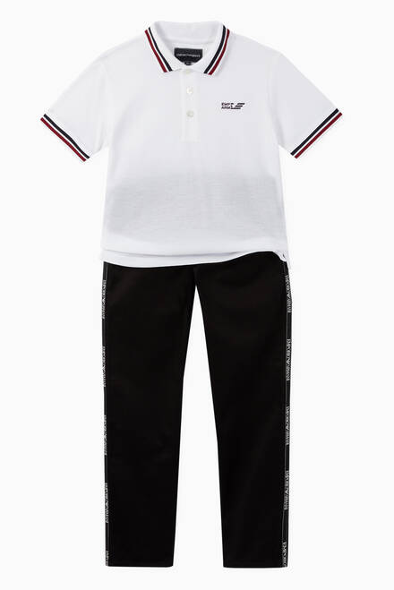 hover state of Cotton Piqué Polo Shirt