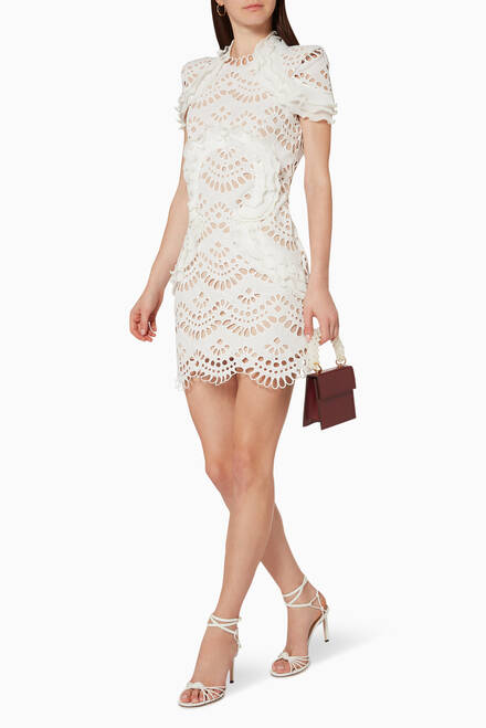 hover state of Cabaret Lace Dress