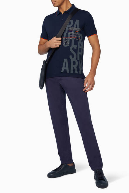 hover state of Regular-Fit Cotton Chinos