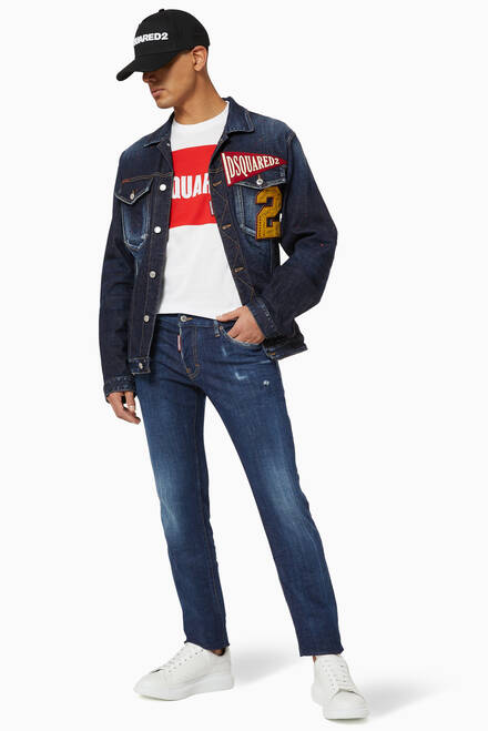 hover state of Over Jean Denim Jacket