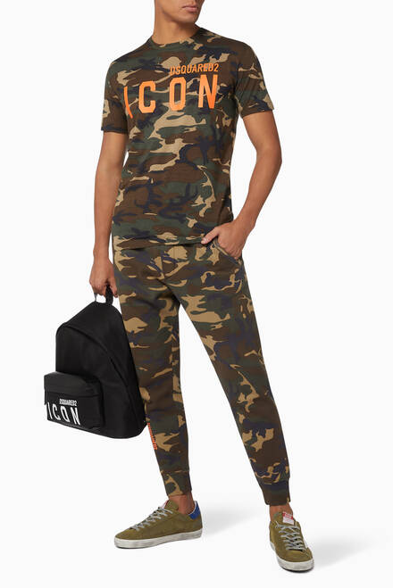 hover state of Camouflage Icon Jersey T-Shirt