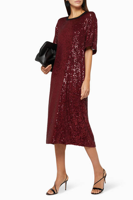 hover state of Soline Sequin Dress
