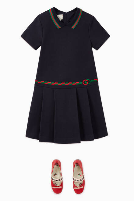 hover state of Interlocking G Cotton Dress