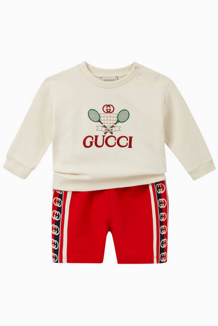 hover state of Gucci Tennis Cotton Sweatshirt