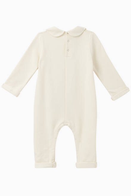 hover state of GG Apple Print Cotton Onesie