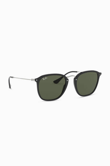 hover state of RB2448N Wayfarer™ Gradient Sunglasses