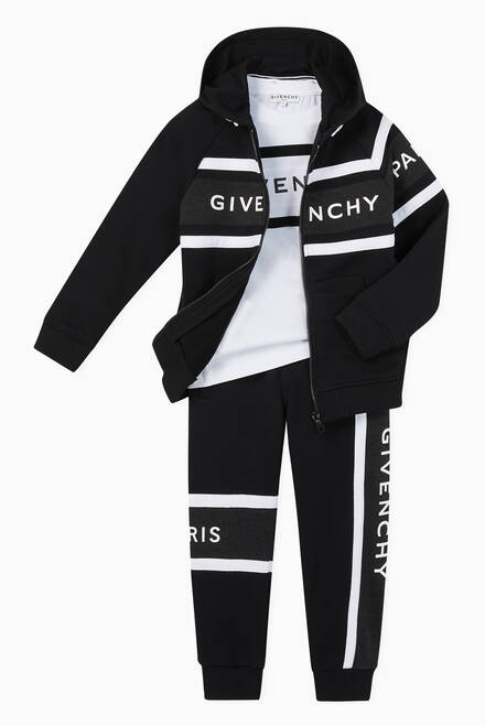 hover state of Logo Panel Jersey Sweatpants