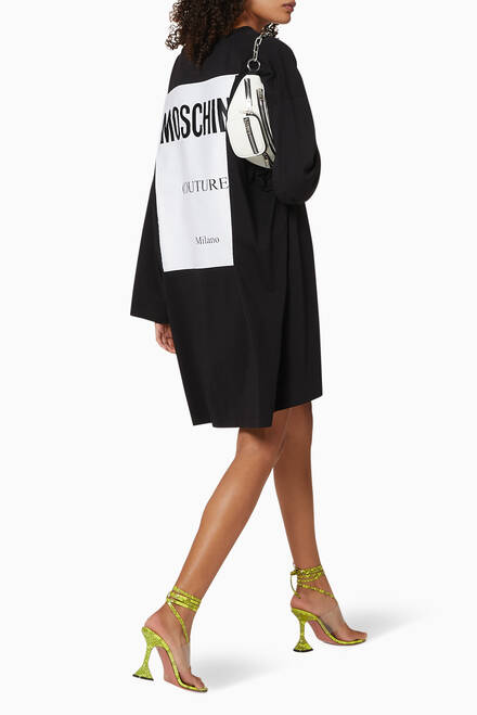 hover state of Logo Oversized Cotton Dress