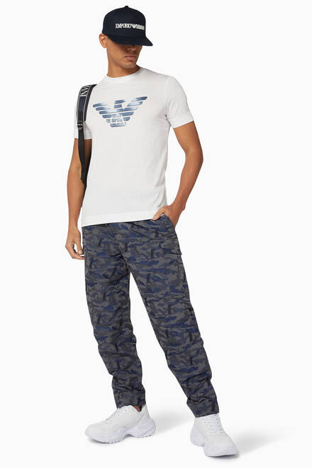 hover state of Camo Jacquard Cargo Pants