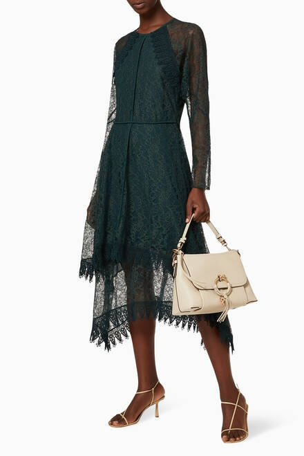 hover state of Lace Georgette Dress