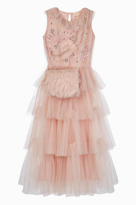 hover state of Take the Lead Cotton Tulle Tutu Dress