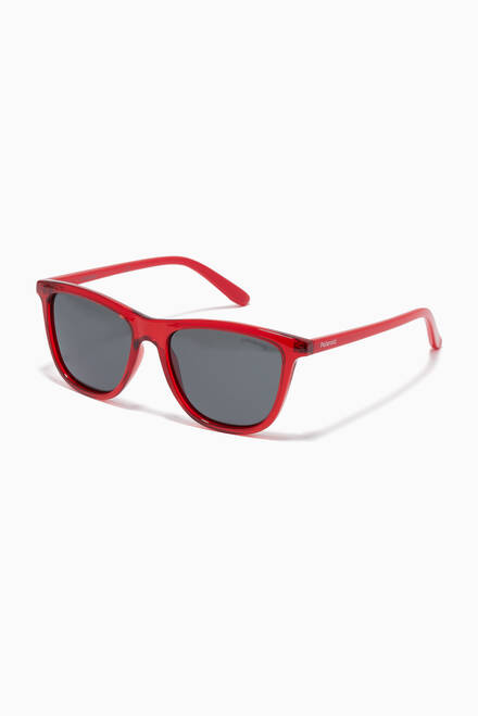 hover state of 8027/S Square Sunglasses in Acetate