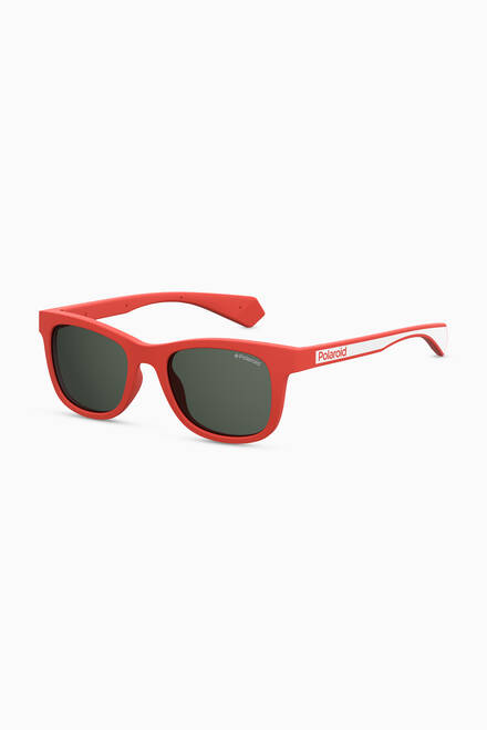 hover state of 8031/S Square Sunglasses in Acetate
