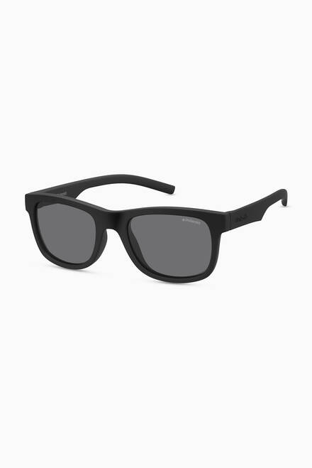 hover state of 8020/S Square Sunglasses in Plastic